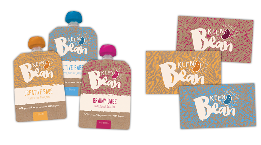 Keen Bean Pouch and Card Design